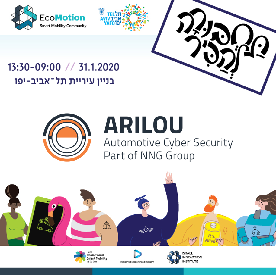 Smart Mobility Fair, 2020, Tel-Aviv, City Hall, Smart Mobility, Cyber Security, Ecomotion, Arilou