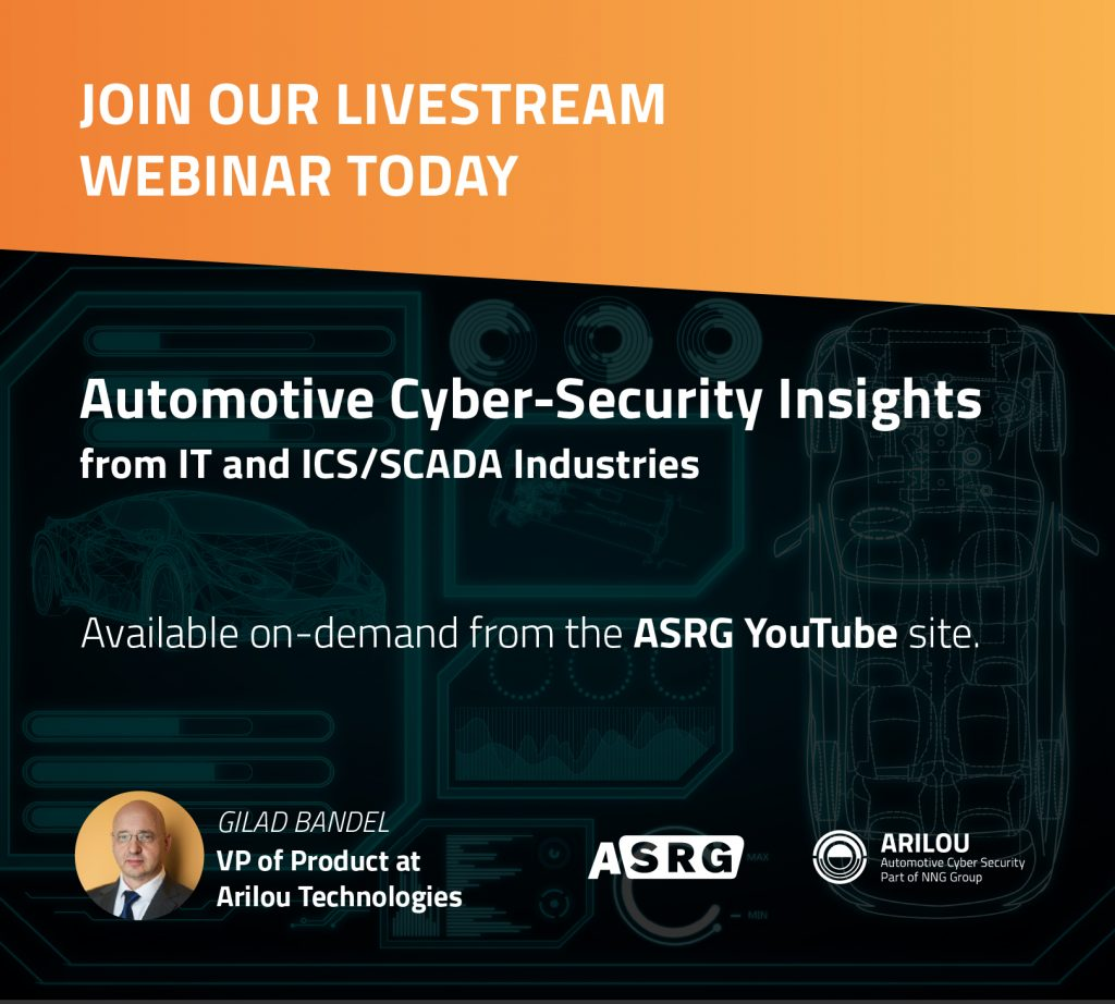 Gilad Bandel, VP of Product, Arilou, IT, ICS, SCADA, Cyber-Security, Livestream Webinar: Cyber-Insights